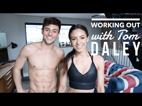 HOME WORKOUT WITH TOM DALEY | DANIELLE PEAZER