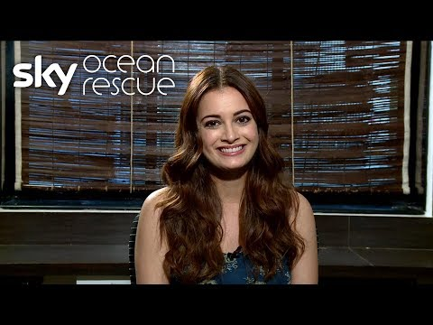 Actor Dia Mirza Supports Sky News' Deep Ocean Live Campaign
