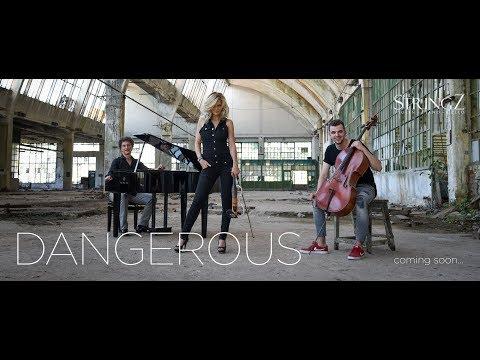 THE STRINGZ - Dangerous - David Guetta /violin / piano / cello cover