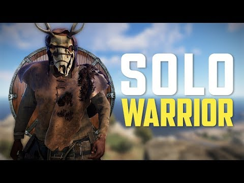 Rust  The SOLO WARRIOR Rust Solo Survival PART 13