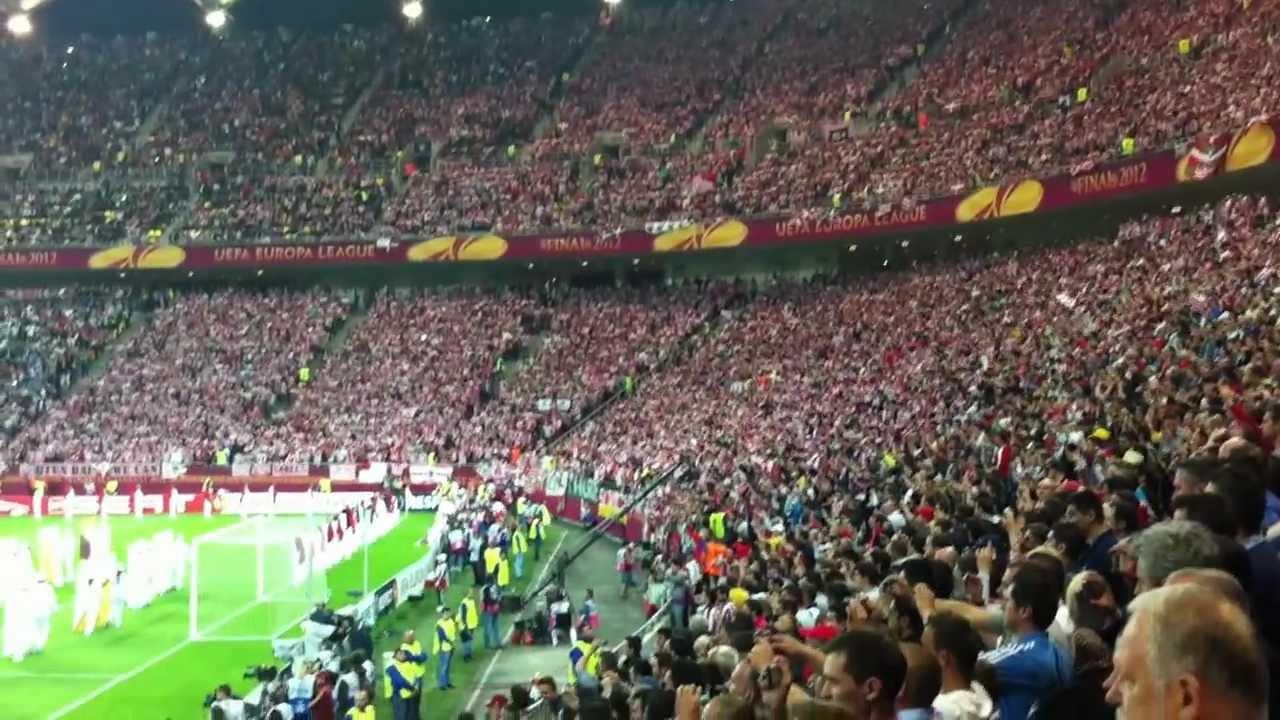 Deschiderea Meciului Atletico Madrid Athletic Bilbao Finala Uefa Europa League