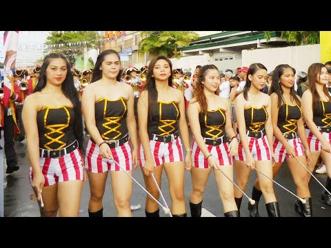 BACOOR CITY, CAVITE TOWN  FIESTA 2019 - Marching Band Parade Full HD