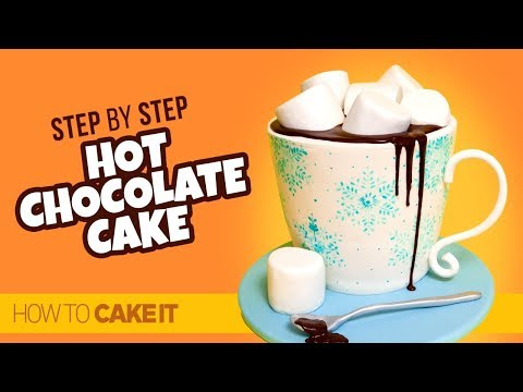 How To Make A Hot Chocolate Cake by Vanessa Fiorini | How To Cake It Step By Step