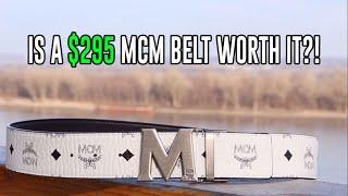 IS A $295 MCM BELT WORTH IT?!