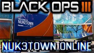 Call of Duty Black Ops 3 FULL NUK3TOWN GAMEPLAY TRAILER! Nuketown Remake DLC Bonus Map Gameplay INFO