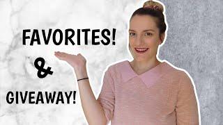 Αγαπημένα προϊόντα & GIVEAWAY | Marinelli