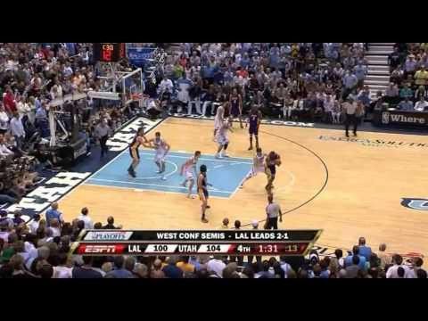 Kobe Bryant Full Series Highlights vs Utah Jazz 2008 NBA Playoffs