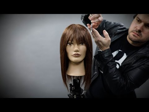 How To Cut Curtain Bangs Hair Tutorial Matt Beck Vlog Season 2 Episode 8 Youtube