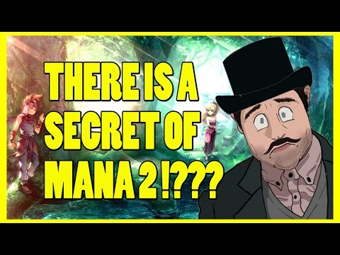 Is There A Secret of Mana 2 !? - Seiken Densetsu 3 History & Review - Top Hat Gaming Man