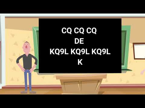 Learn CW Morse Code | How to Answer a CQ Call | Absolute Beginners