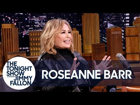 Roseanne Barr Remembers the Tonight  Appearance That Launched Her Career