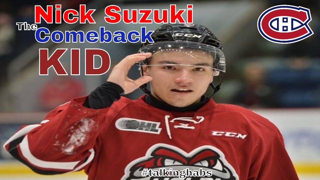 my take onThe Habs Nick Suzuki-- The Comeback Kid!