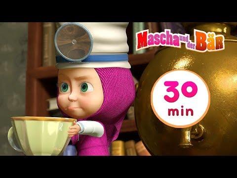 mascha-und-der-bär---🚑-mascha-kuriert-den-bären🌡-sammlung-3-🎬-30-min