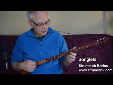 Songlets Strumstick Basic Instructions