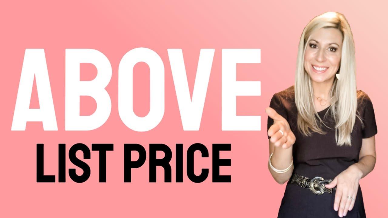 Above List Price