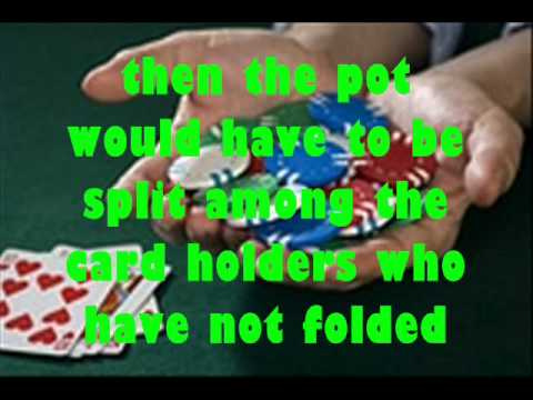 texas holdem split pot scenarios