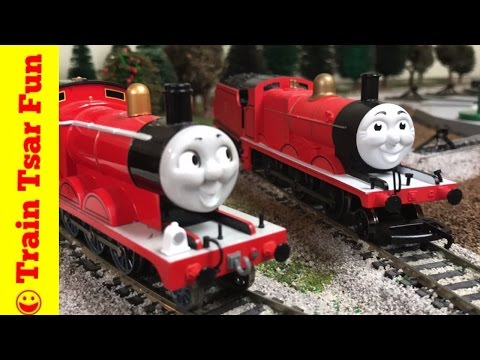 HORNBY JAMES NEW! Locomotive Thomas & Friends Trains compare to Bachmann