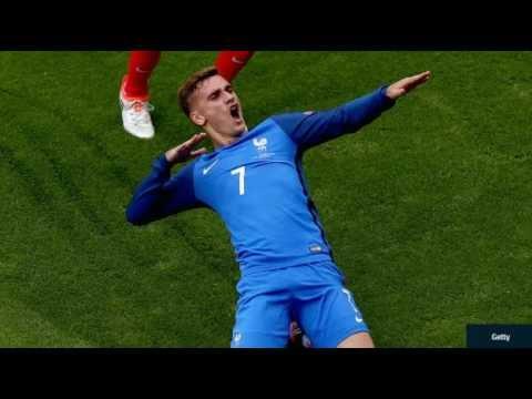 FRANCE BEATS IRELAND 2 - 1 AT EURO FRANCE 2016