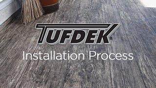 Gambar cover Tufdek™ Waterproof Vinyl Decking - Installation Process