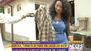 Narcisa i-a dat foc la haine lui Nicolae Guta