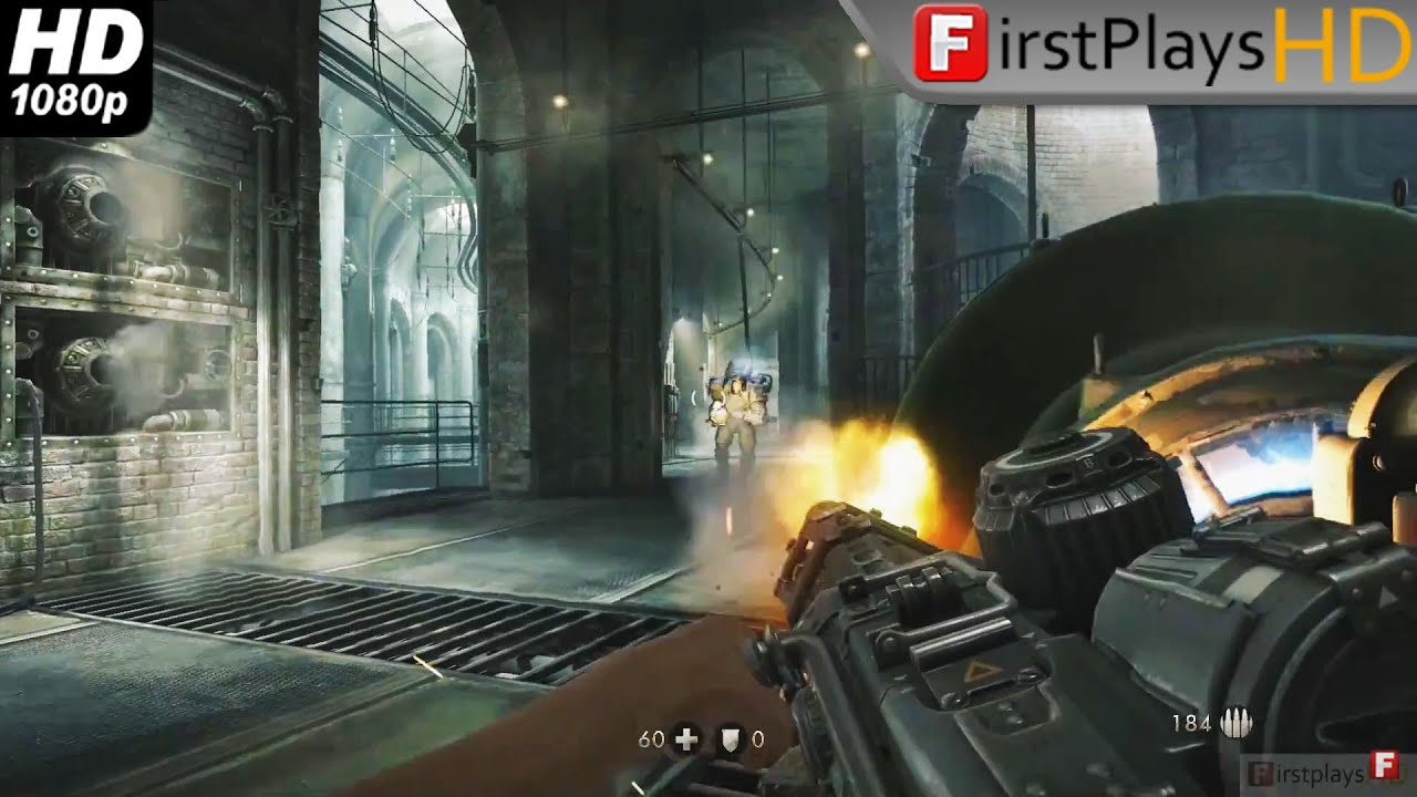 Wolfenstein: The Old Blood (2015) - PC Gameplay / Win 7 HD 1080p