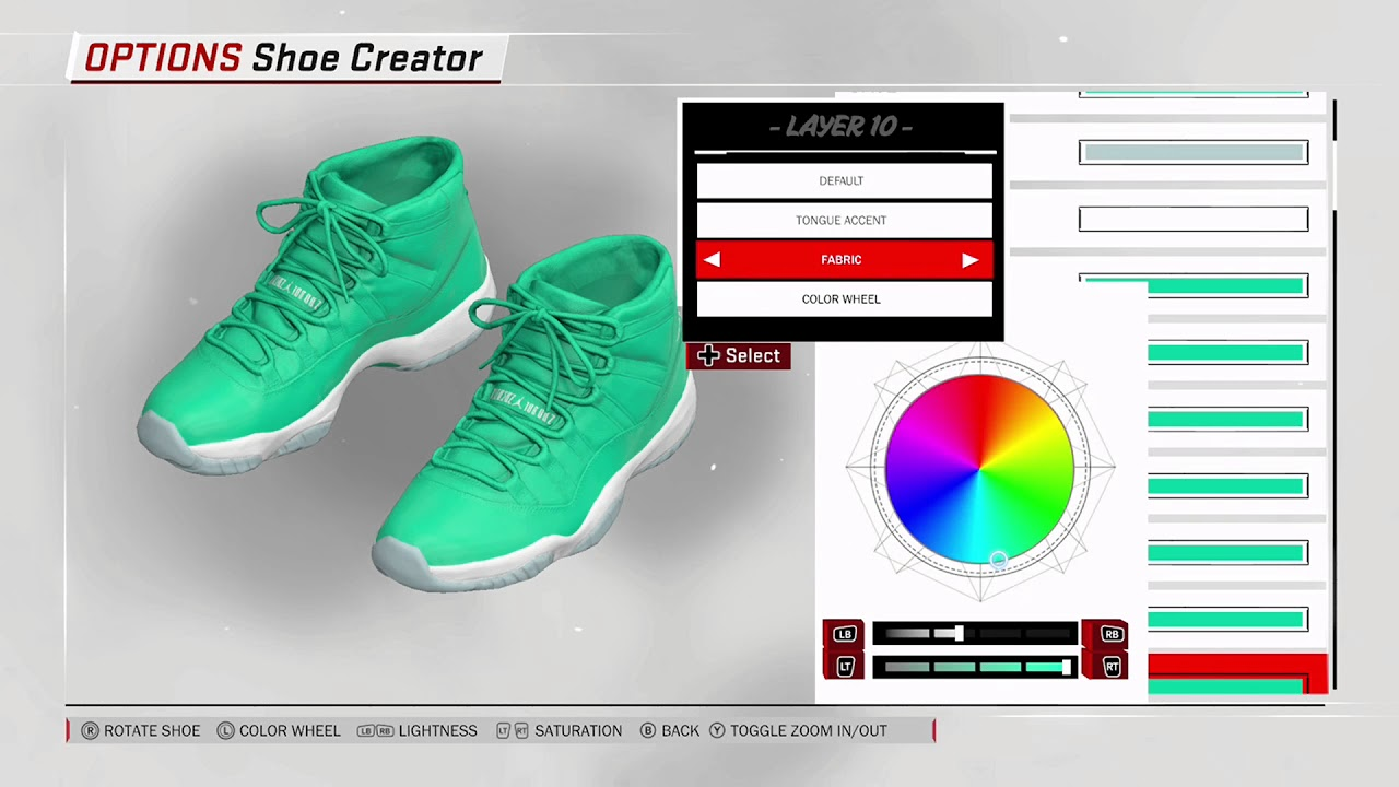 NBA 2K18 Shoe Creator - Air Jordan 11 PE