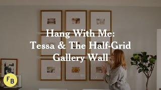 Hang With Me: Framebridge Gallery Wall Tutorial