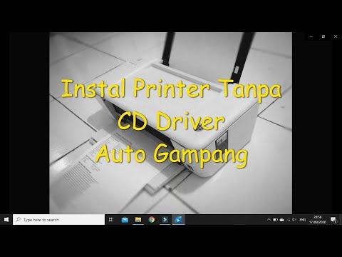 Cara Install driver Canon IP2770 dan  penjelasan kenapa printer offline.