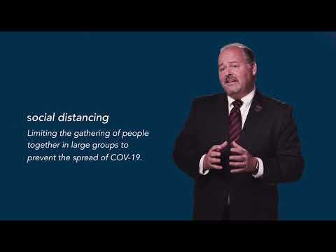 COVID-19: What is Social Distancing with Dr. Phillip Coule