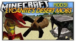 Minecraft Mod Showcase: Lycanite