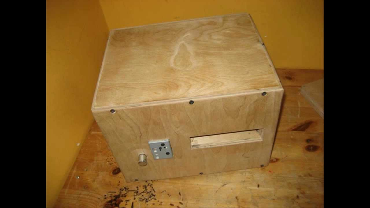My Custom Wooden Pc Case