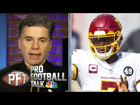 Why Washington Football should stick with Dwayne Haskins as starter | Pro Football Talk | NBC Sports