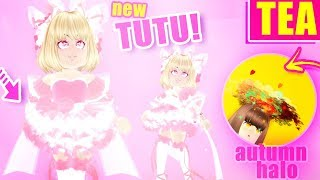 FIRST LOOK at the NEW TUTU! Autumn HALO Interview! Royale High Updates w/ OceanOrbs