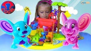 Мышеловка и Остров Животных - Игры для детей Распаковка с Ярославой. Mouse Trap Game UNBOXING TOYS