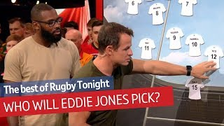 Predicting England's World Cup XV | Rugby Tonight