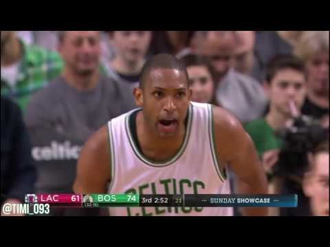 Al Horford Highlights vs Los Angeles Clippers (13 pts, 15 reb, 6 ast)