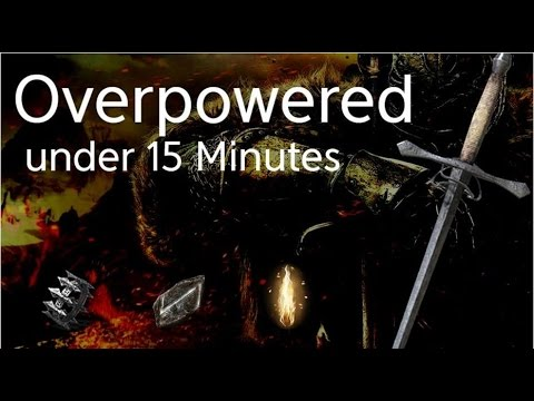 Dark Souls 2 SotFS Build - MORE Overpowered in 15 minutes (+8)