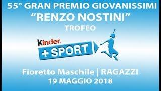 55° GPG Trofeo Kinder +Sport - IV GIORNATA - Fm Ragazzi