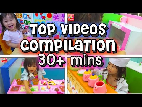 #1 Velcro Cutting Fruits - TOP BEST Videos Compilation Kids Play O'Clock | Playtime FUN with ELISE