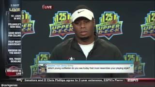 Ken Griffey Jr awkward interview on ESPN [the highlights]