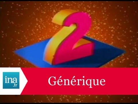Générique 20h Antenne 2 1990- Archive INA