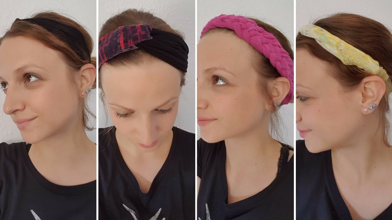 Diy Headbands How To Make Out Of A Shirt