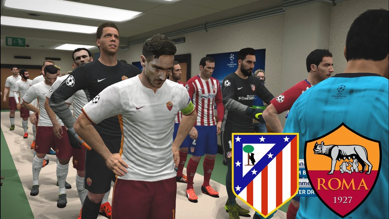 Image result for AS Roma vs Atletico Madrid pic