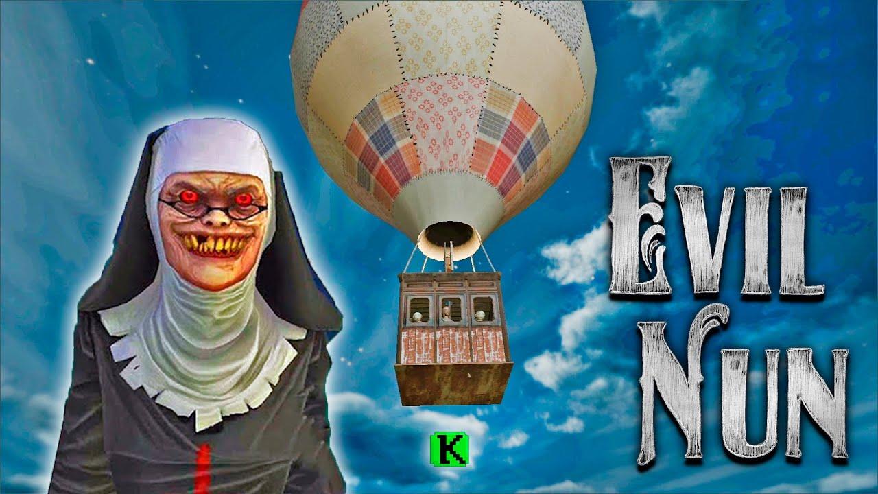 Granny is Evil Nun! The Broken mask final! Funny moments in Evil Nun horror game!