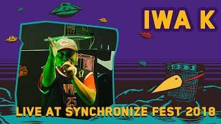 Iwa K Live at SynchronizeFest 7 Oktober 2018