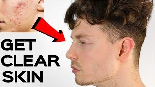 Men Skincare Hacks   How To Get Clear Skin   Get Ready With Me 2019 #AD