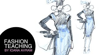 How to draw a fashion sketch step by step for beginners Thumbnail