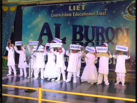 1 st Annual Program of Al Burooj Islamic School Hosur-Months In islam