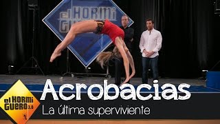 Patricia Montero nos enseña sensuales acrobacias - El Hormiguero 3.0