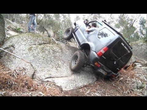 OFF ROAD - Loose Rocks Trail - Suzuki Jimny JB43, Samurai, Daihatsu Rocky